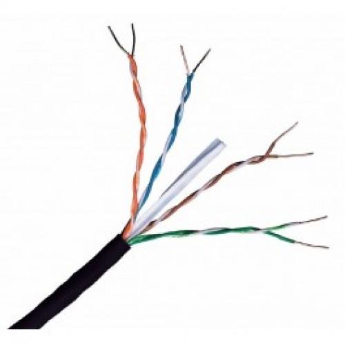 External Pe Cat6 Ethernet Utp Solid Copper Cable